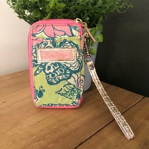 [Lilly Pulitzer] Colorful Card Holder/Clutch